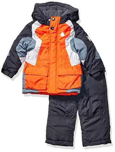 LONDON FOG Boys 2-Piece Snow Pant /& Jacket Snowsuit