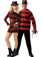 Miss Krueger and Freddy Krueger Nightmare on Elm Street Couples Costumes - Party City