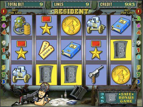 в играть автоматы резидент игровые бесплатно