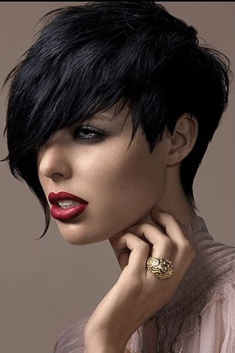 Short Hairstyle Synthetic Straight Hair Capless Wigs#wig#hairstyle#short hair
