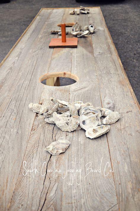 Oyster Table- South Carolina Joggling Board Company