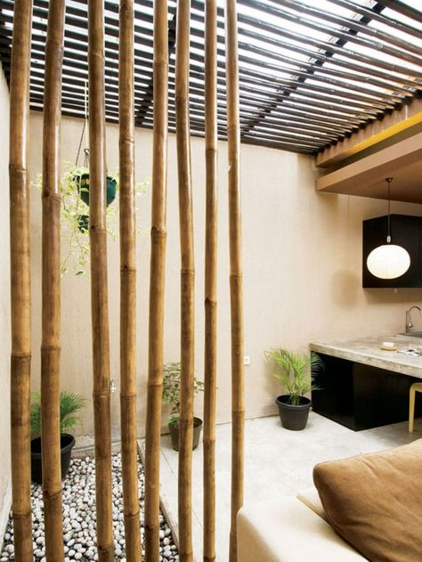 33 Decorations With And Bamboo Bambus Raumtrenner Dekoration