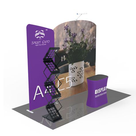 Portable Exhibition Banners : Portable display boards trade show pop up banners exhibition booth