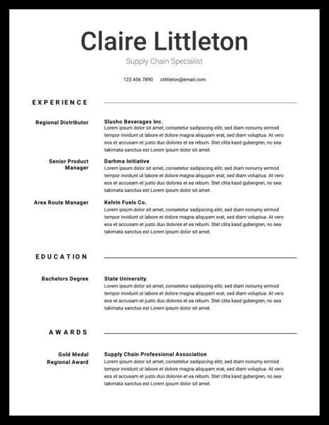 Free Professional Resume Templates Downloadable Lucidpress Resume Template Professional Free Professional Resume Template Resume Template