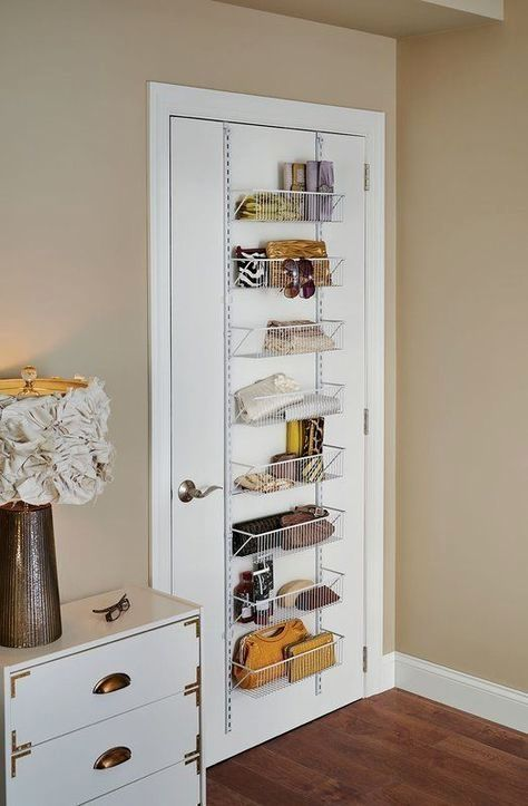 16 Bedroom Organizer Ideas That You Can Do It Yourself In 2020 Small Apartment Storage Storage Hacks Bedroom Room Organization Bedroom