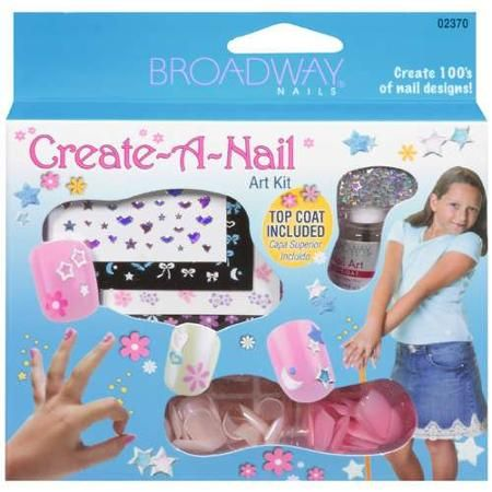 Broadway Nails Create-A-Nail Art Kit, Assorted
