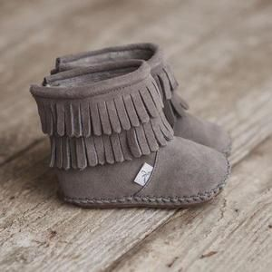 Baby girl boots, Baby fringe boots