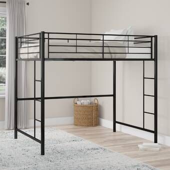 Whitbeck Twin Bed Loft Bed Twin Loft Bed Low Loft Beds