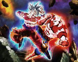 Goku Vs Jiren Final Dbs Full Power By Xyelkiltrox Goku Vs Jiren Dragon Ball Super Goku Anime Dragon Ball Super