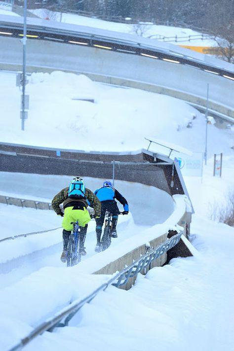 "New 2014er Radon Slide 13029 ""- photo shoot in the #Winterberg bobsleigh at mountainbike-magazin.de"