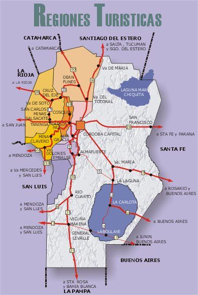 Provincia De Cordoba Turismo En Cordoba Argentina Turismo