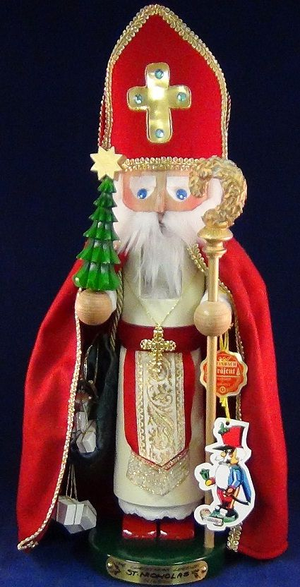 Steinbach Nutcracker St. Nicholas--would love one of these but $600??