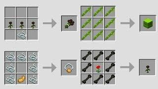 New Minecraft 1 14 Crafting Recipes Snapshot Update Crafting