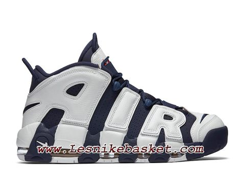 size 40 1fe9a 76128 Nike Air More Uptempo Chaussures Officiel Nike Pas Cher Pour Homme Scotty  Pippen Olympic 414962-401