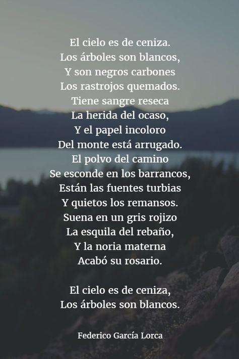 Poemas de federico garcia lorca 12