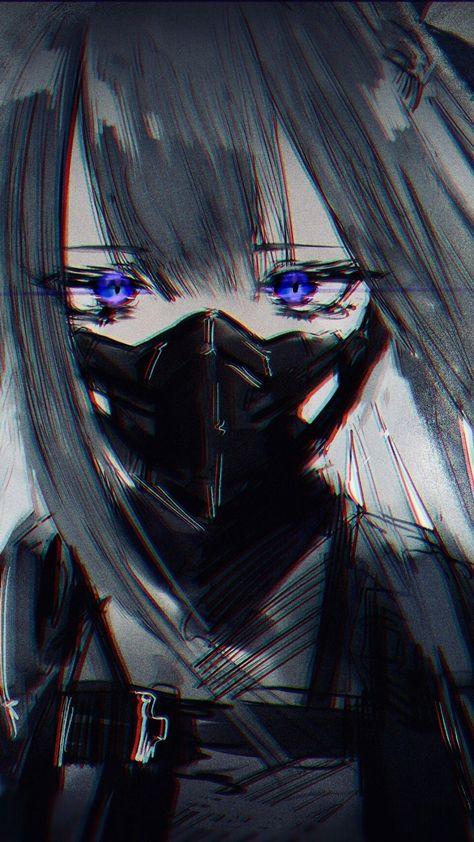Anime Kartinki Devushka V Maske 34 Foto S Izobrazheniyami