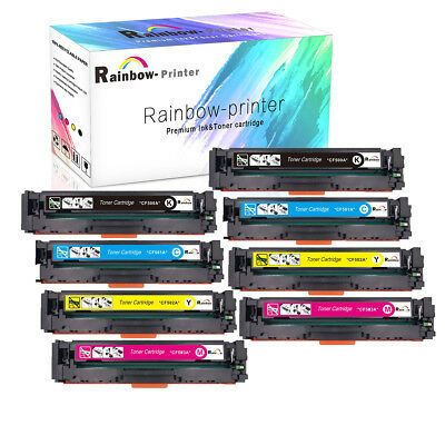 Ebay Link Ad 4 8x For Hp 202a Toner Cf500a Color Laserjet Pro Mfp M281fdw M281cdw M254dw M280 Printer Toner Cartridge Ebay