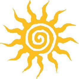 A spiral sun - Summer Solstice Symbole Tattoo, Tattoo Sonne, Sun Tattoos, Celtic Tattoos, Sleeve Tattoos, Sun Designs, Sun Art, My Sun And Stars, Summer Solstice