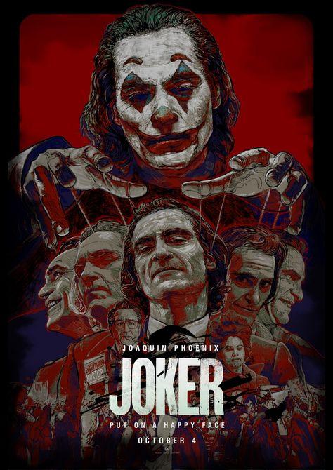 JOKER alternative movie poster animation