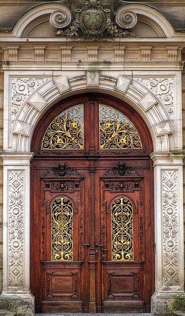 Pin By Edna Burt On Art Nouveau Cool Doors Unique Doors Beautiful Doors