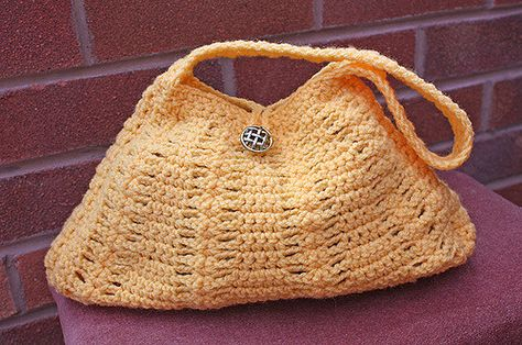 https://flic.kr/p/6E5tn8 | Little Miss Sunshine Handbag | Cute little summer handbag I`ve just finished the pattern for