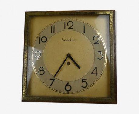 Pendule Vedette De Cuisine Vintage Vintagestyle Vintagefashion Pendule Horloge Vedette Kitchen Deco Homedecor Home Love Beaut Wall Clock Clock Wall