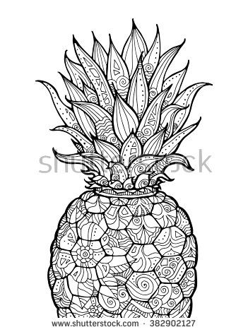 Cute Summer Fruit Coloring Page Yahoo Image Search Results Fruit Coloring Pages Mandala Coloring Pages Coloring Books