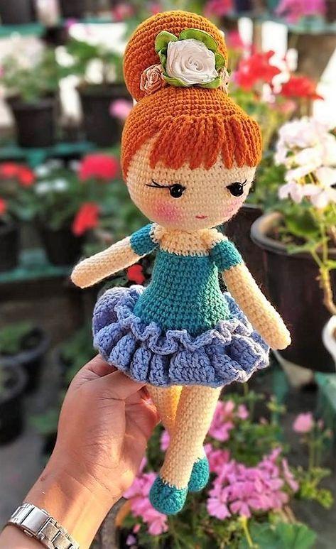 Top 10 Best Amigurumi Doll And Animal Crochet Free Pdf Patterns ... | 773x473