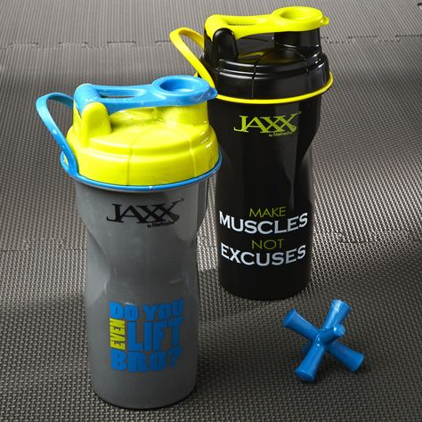 The Jaxx mixing system is the easiest way to mix and enjoy your favorite protein shake, weight loss supplements or even lemonade or baby formula for your little
