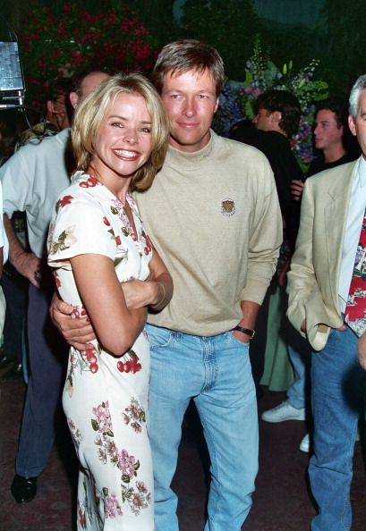 Kristina Wagner and Jack Wagner during 1995 Melrose Party Celebrating 100th Episode in Los Angeles CA United States