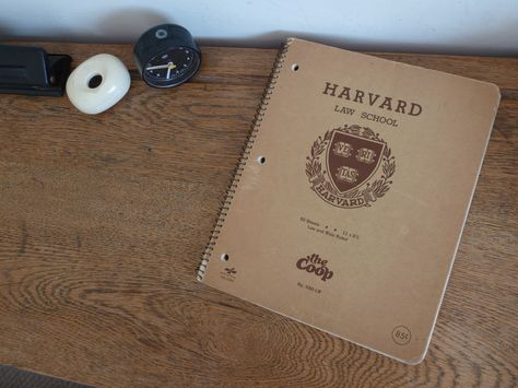 Harvard Law School notebook 1970s Harvard Law School Pinterest - harvard law school resume