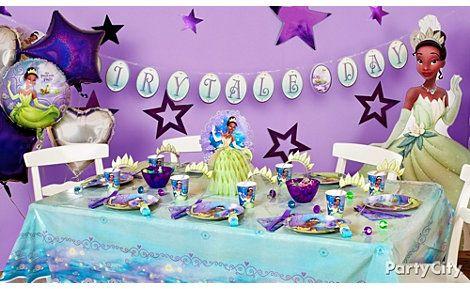 Disney S Princess Tiana Themed Party Supplies And Ideas Princess