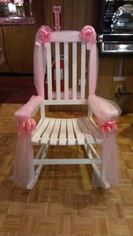 Baby Shower Chair For The Mother To Be Party Ideas Pinterest