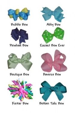 If you want to learn how to make hair bows for little girls you've come to the right place! Here you'll find hair bow directions for making a...