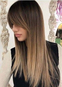 Long Bangs Hairstyle 2020 In 2020 Long Hair With Bangs Haircuts For Long Hair Long Straight Hair