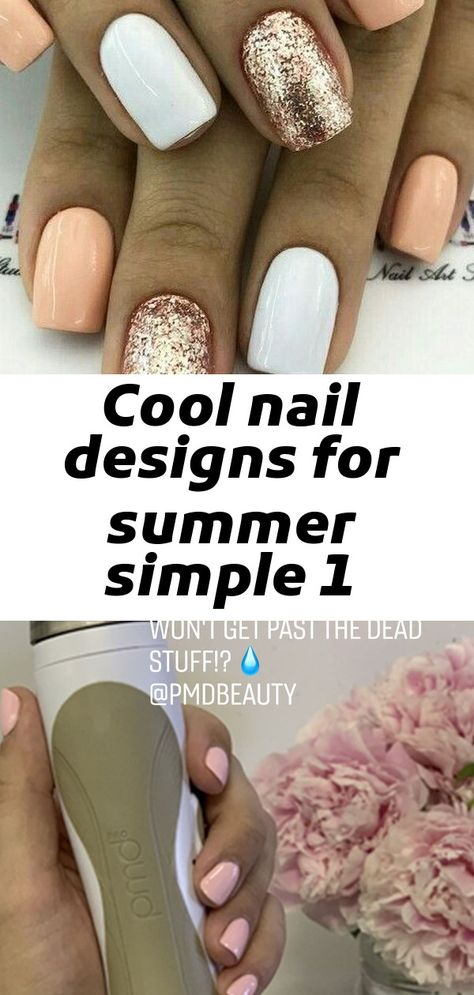 Cool nail designs for summer simple 1