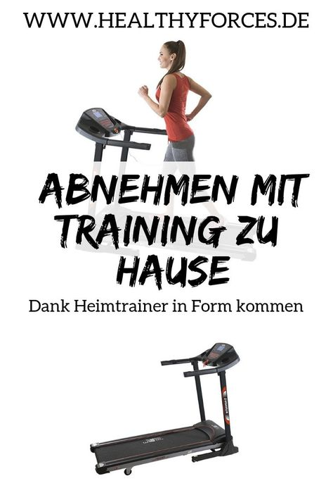 Übungen zum Abnehmen auf einem Heimtrainer
