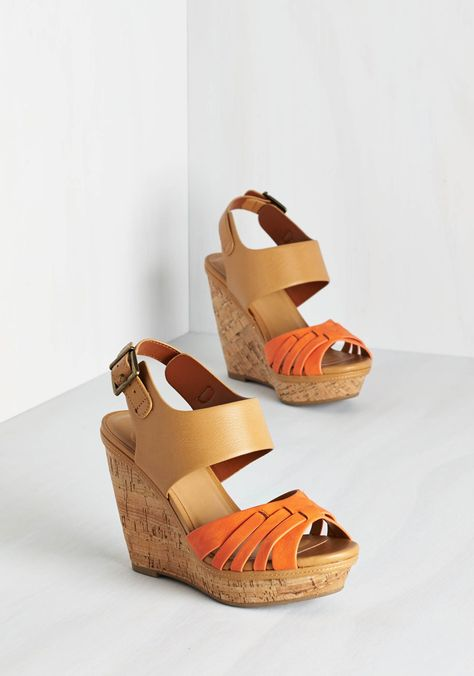 Oh, For Shore Wedge, @ModCloth  So want these!!😘😘