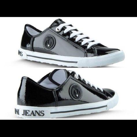 "Authentic woman's sneakers  ""Armani Jeans"" Authentic woman's sneakers  Armani Jeans, bought it in Itali , size-US 9.5, EU-41 (27cm) Giorgio Armani Shoes Sneakers"