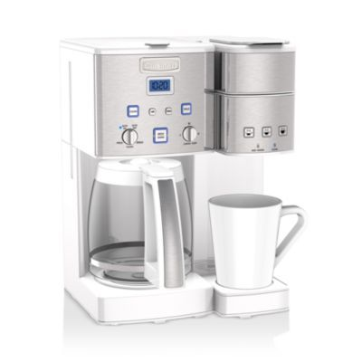 Cuisinart Coffee Center 12 Cup Coffeemaker Single Serve Brewer In 2020 Coffee Maker Coffee Center Single Serve Coffee Makers