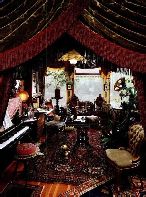 A gorgeous Victorian parlor. ~Splendor