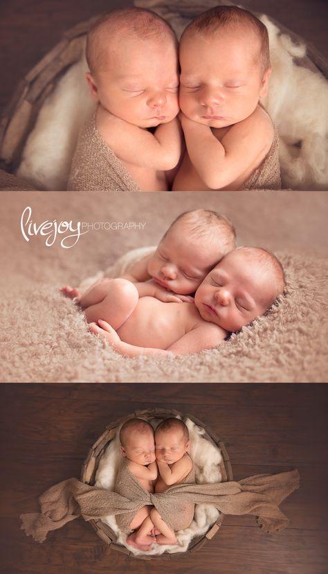 Twin Newborn Boy Photos   Oregon   LiveJoy Photography