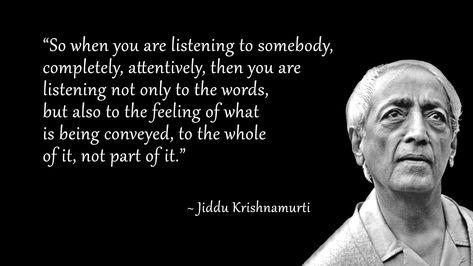 Jiddu Krishnamurti Philosophy Quotes Jiddu Krishnamurti