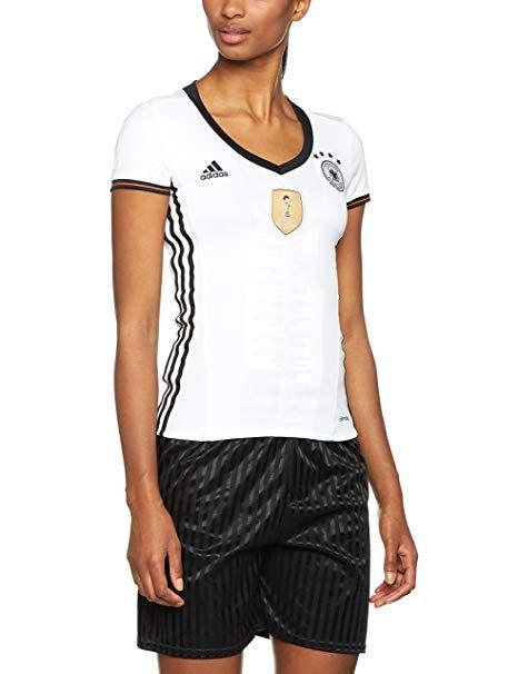 verkauf uk größte Auswahl strukturelle Behinderungen adidas Damen UEFA EURO 2016 DFB Heimtrikot Replica, weiß ...