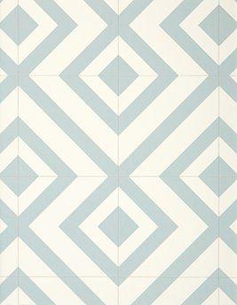 sol vinyle bubblegum motif geometrique
