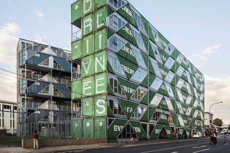New Container Architecture Design And Sustainability In 2020