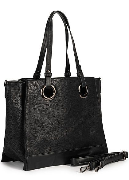 Styleboom Fashion Damen Kunstleder Handtasche 40x27cm 3