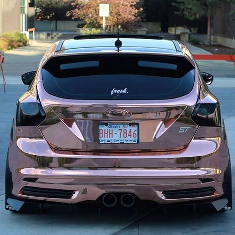 Rose Gold Pre Face Lift Focus St Ford Focus St Ford Focus Ford