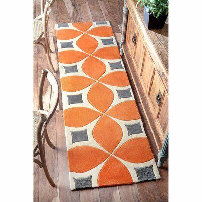 Sorrento Power Loom Orange Rug Orange Area Rug Area Rugs Handmade Area Rugs