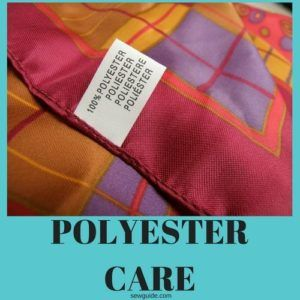 Does Polyester Shrink 4 Faq Answered On Polyester Wash Care Sew Guide Types Of Textiles Sewing Polyester